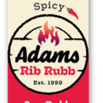 Spicy Adams Rib Rubb